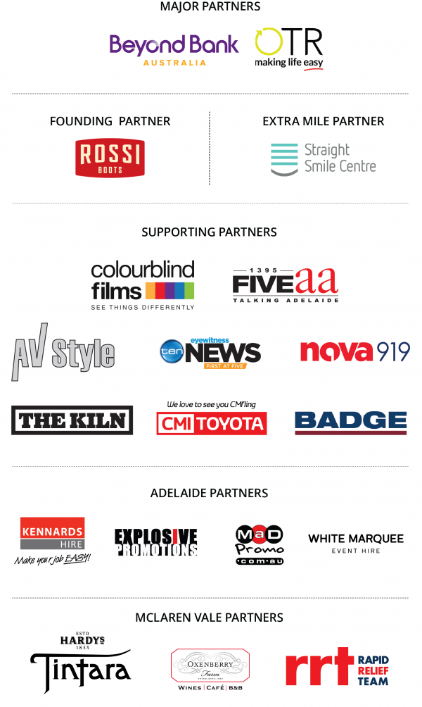 Walk A Mile 2018 ALL sponsors